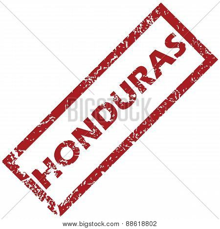 New Honduras rubber stamp