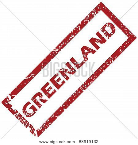 New Greenland rubber stamp