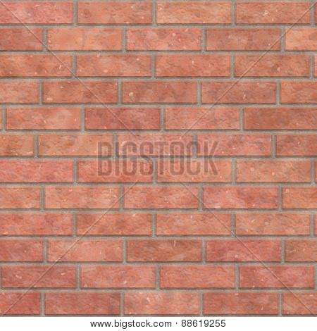 Brick Wall Seamless Generated Texture