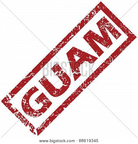 New Guam rubber stamp