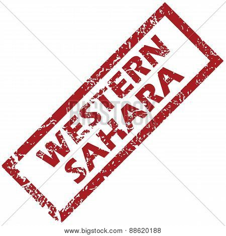 New Western Sahara rubber stamp