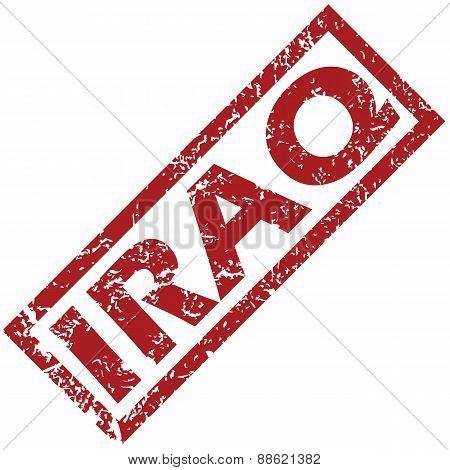 New Iraq rubber stamp