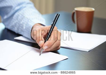 men with pen