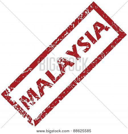 New Malaysia rubber stamp