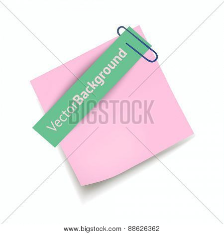 Sheets paper. Vector illustration.