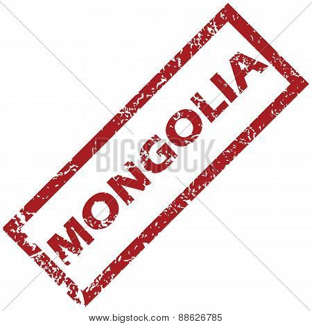 New Mongolia rubber stamp