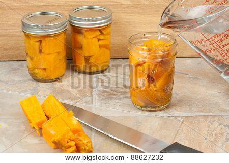 Canning Sweat Potatoes