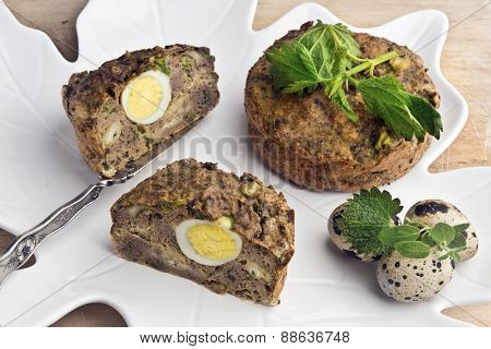 Spring Pate (or Meat Pie Stuffing)