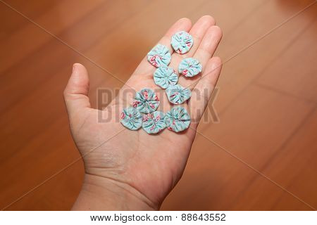 Hand With Handcrafts