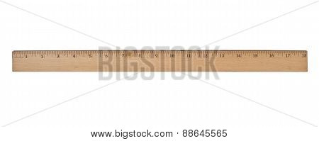 Vintage Wooden Ruler