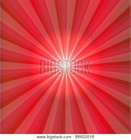 Abstract red light vector