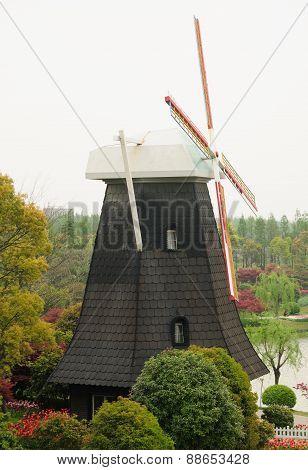 Dutch Style Windmill