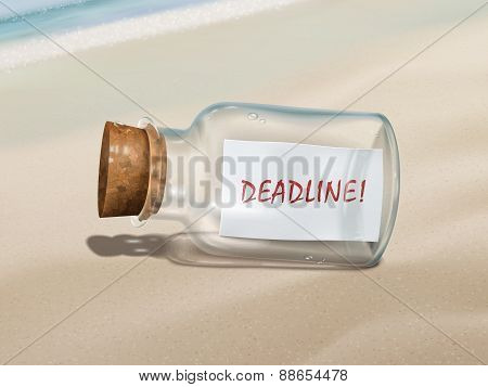 Deadline Message In A Bottle
