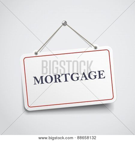 Mortgage Hanging Sign