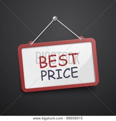 Best Price Hanging Sign