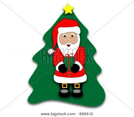 Santa And Tree8 Copy