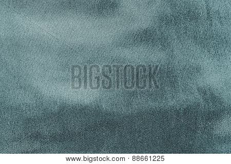 Abstract Texture Fabric Of Dark Indigo Color