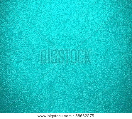 Aqua leather texture background