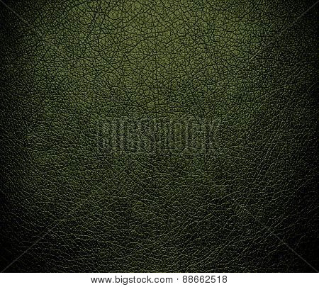 Army green leather texture background