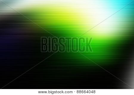 Green Blurred Colorful Abstract Background With Nice Gradient.