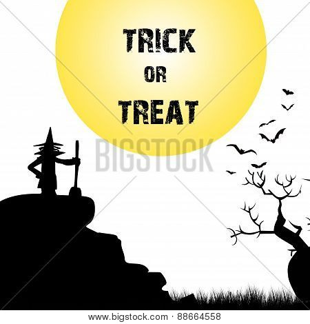 Halloween Terrible Background