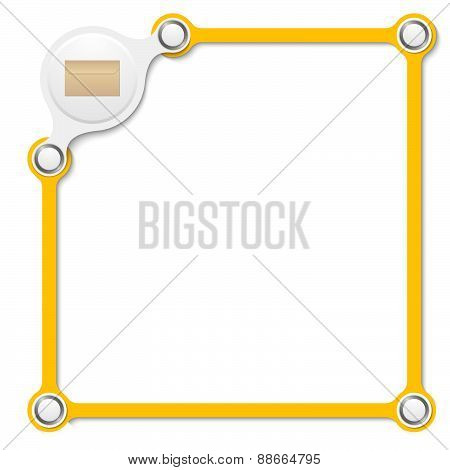 Vector Yellow Box