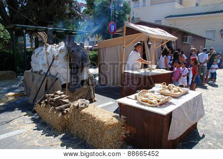 Medieval Bakers Stall, Barbate.