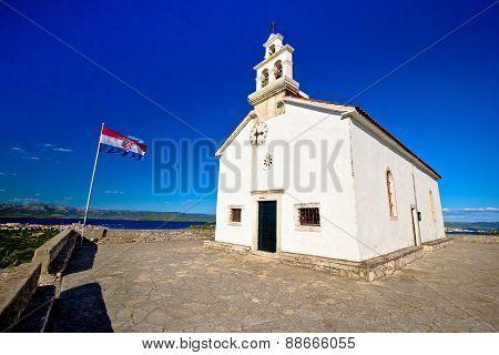 Church On The Hill Of Murter