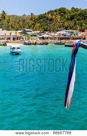 Phi Phi Pier Vertical