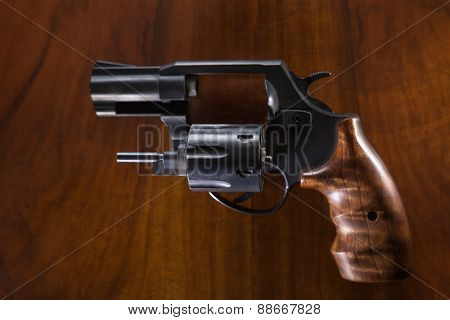 Cylinder Revolver Gun