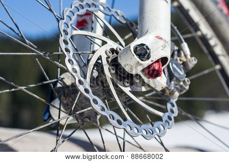 Bicycle Disk Brake.