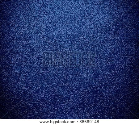 B dazzled blue color leather texture background