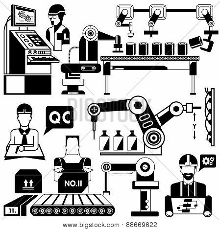 engineer, manufacturing, industrial robots
