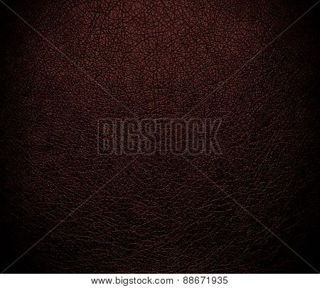 Black bean leather texture background
