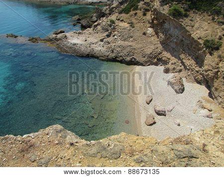 Small, Hidden Beach