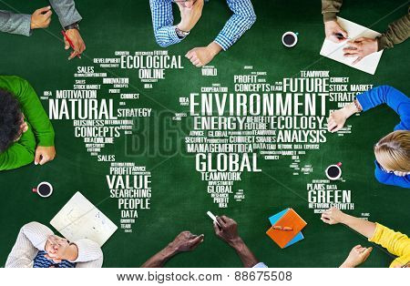 Environment Ecology Conservation Productivity Concept