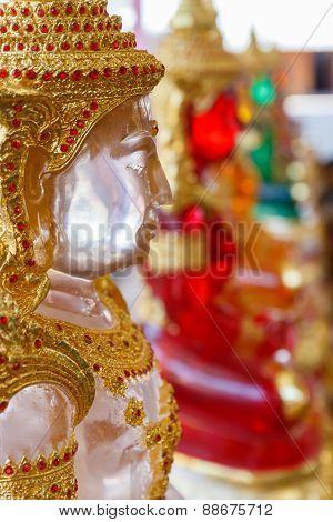 Clear Buddha Statue