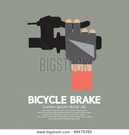 Bicycle Brake Graphic.