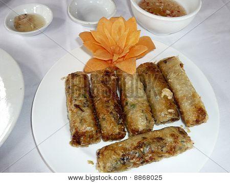 Fried Springrolls