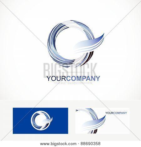 Letter O Q Logo Icon