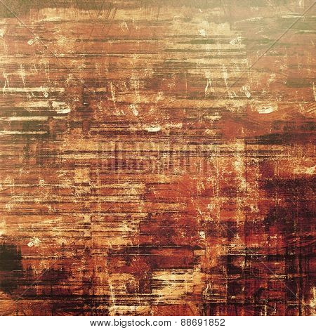 Abstract grunge background or old texture. With different color patterns: yellow (beige); brown; gray; purple (violet)