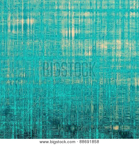 Abstract grunge background. With different color patterns: yellow (beige); blue; cyan