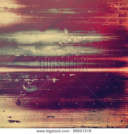 Grunge texture. With different color patterns: brown; gray; purple (violet); pink