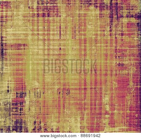 Old texture as abstract grunge background. With different color patterns: yellow (beige); brown; purple (violet); pink