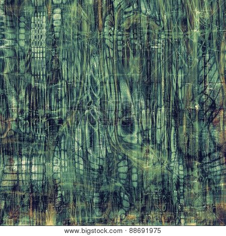 Old retro vintage texture. With different color patterns: brown; gray; green; blue