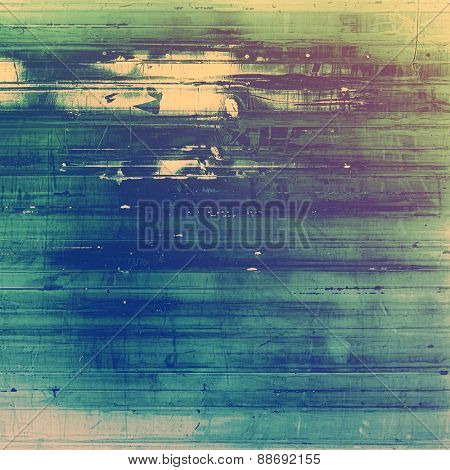 Old texture - perfect background with space for your text or image. With different color patterns: yellow (beige); blue; purple (violet); green