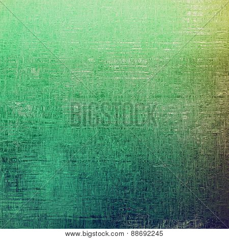 Colorful designed grunge background. With different color patterns: gray; green; blue; cyan