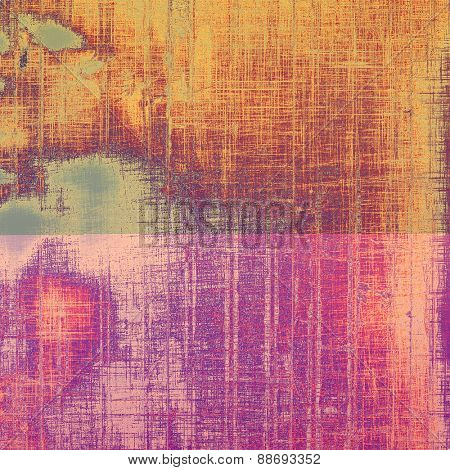 Ancient grunge background texture. With different color patterns: yellow (beige); gray; purple (violet); pink