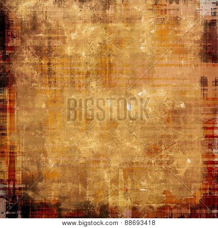 Vintage Template. With different color patterns: yellow (beige); brown; gray; red (orange)