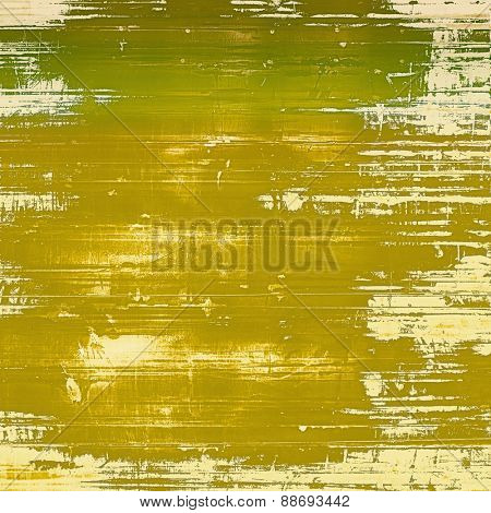 Retro texture. With different color patterns: yellow (beige); brown; green